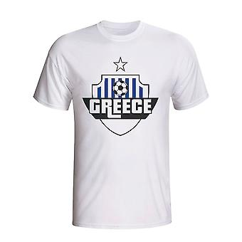 Greece Country Logo T-shirt (white) - Kids