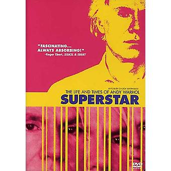 Superstar : Les temps de vie & d'Andy Warhol [DVD] USA import