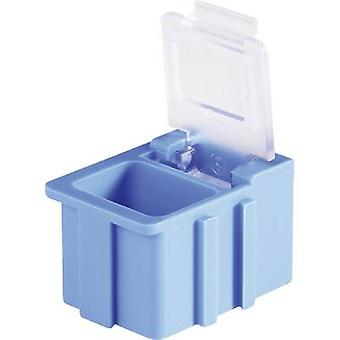 SMD box Green Lid colour: Transparent 1 pc(s) (L x W x H) 16 x 1