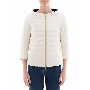 Herno women's PI0793D192881093 white polyamide Quilted Jacket