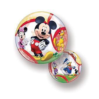 Ballon Bubble Kugel Mickey Mouse Donald Duck Comic circa 55cm Folienballon