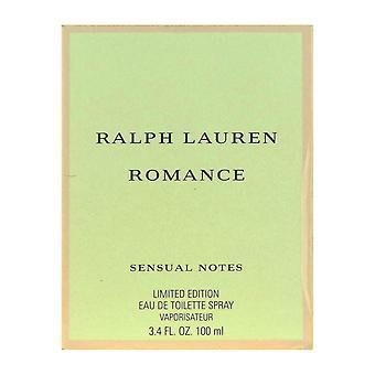 Ralph Lauren Romance zmysłowe nuty Woda toaletowa Spray 100 ml/3. 4 Oz nowe w polu