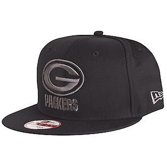 New era 9Fifty Snapback Cap - Green Bay Packers black