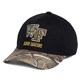 Wake Forest Demon Deacons NCAA TOW Region Camo Stretch Fitted Hat