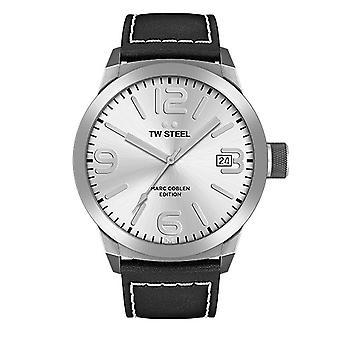 TW stål mens klocka Marc Coblen Edition TWMC24 wrist watch läderarmband