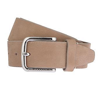 BALDESSARINI belt leather belts men's belts jeans belt Brown/sand 2683