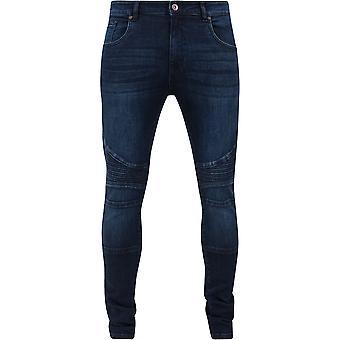 Urban Classics Slim Fit Biker Jeans
