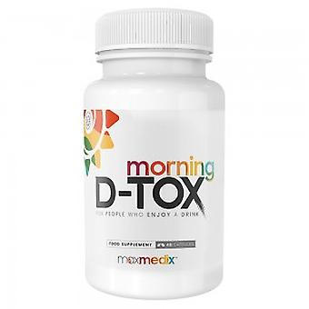 Morning D-Tox - Natural After Drink Supplement With Vitamins & Minerals - 48 Capsules