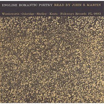 John S. Martin - English Romantic Poetry: Read by John S. Martin [CD] USA import