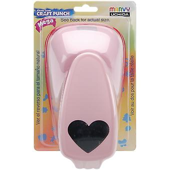 Clever Lever Mega Craft Punch-Heart