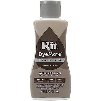 Rit Dye More Synthetic 7oz-Chocolate Brown