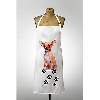 Adorable Chihuahua Design Apron