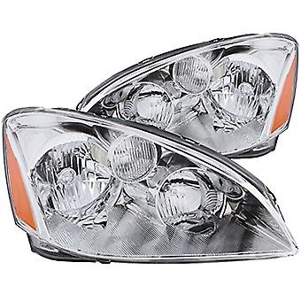 Anzo USA 121259 Nissan Altima Crystal Clear w/Amber Reflectors Headlight Assembly - (Sold in Pairs)