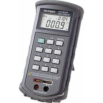 VOLTCRAFT LCR 4080 Component tester Digital Calibrated to: Manufacturer's standards (no certificate) CAT I Display (cou