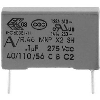 Kemet R46KN333000M1M+ 1 pc(s) MKP suppression capacitor Radial lead 330 nF 275 V 20 % 22.5 mm (L x W x H) 26.5 x 7 x 16