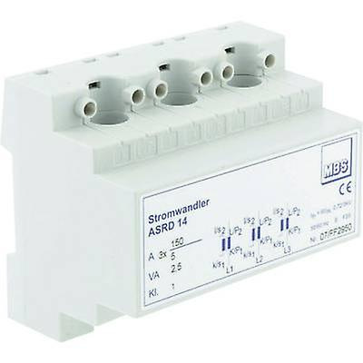 MBS ASRD 14 3X100 5A 2,5VA Kl.1 Stromwandler Primary current 3x 100 A Secondary current 5 A