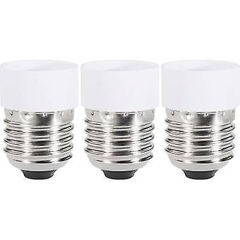 Bulb holder adapter E27 to GU10 3-piece set Renkforce 97029c81e 230 V 75 W