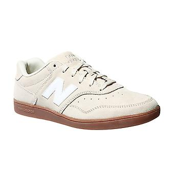 New balance mens real leather of sneaker beige