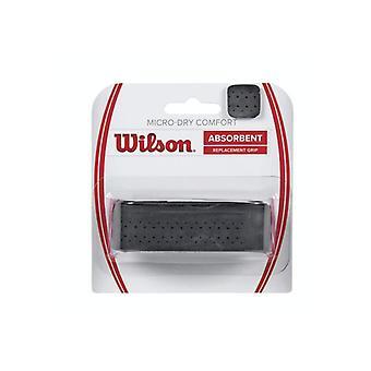 Wilson Micro-Dry Comfort Basisband schwarz WRZ4211