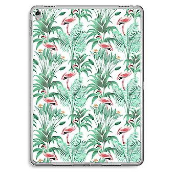 hojas de iPad Pro 9,7 pulgadas caja transparente (suave) - Flamingo