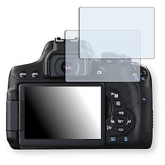 Canon EOS 750 screen protector - Golebo crystal clear protection film