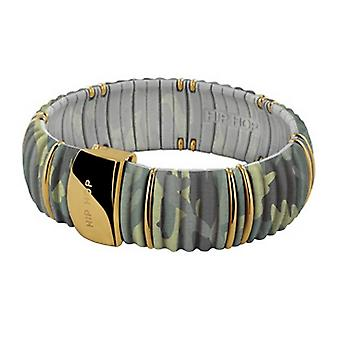 Hip Hop Ladies Bracelet Bangle Silicone Kint HJ0138 forest camo