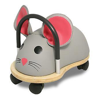 Wheelybug ritje op muis