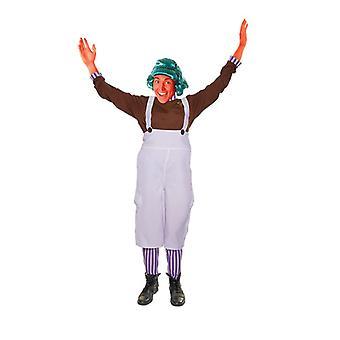 Bnov chocolade fabriek werknemer Unisex kostuum