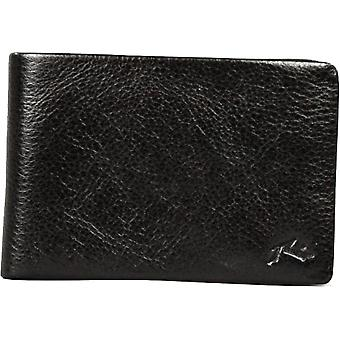 Rusty Bust Leather Wallet