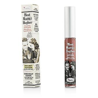 Thebalm Meet mat Hughes langdurige vloeibare Lipstick - oprechte - 7.4ml/0.25oz