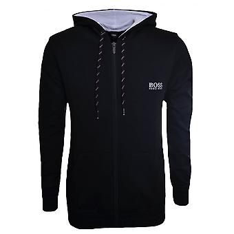 Hugo Boss Leisure Wear Hugo Boss Men's Black Hooded Zip Through Tracksuit