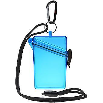 Witz holde det klart lett vanntett Sport Case - blå