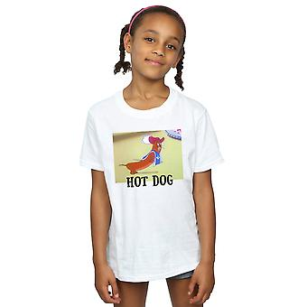 Tom and Jerry Girls Hot Dog T-Shirt