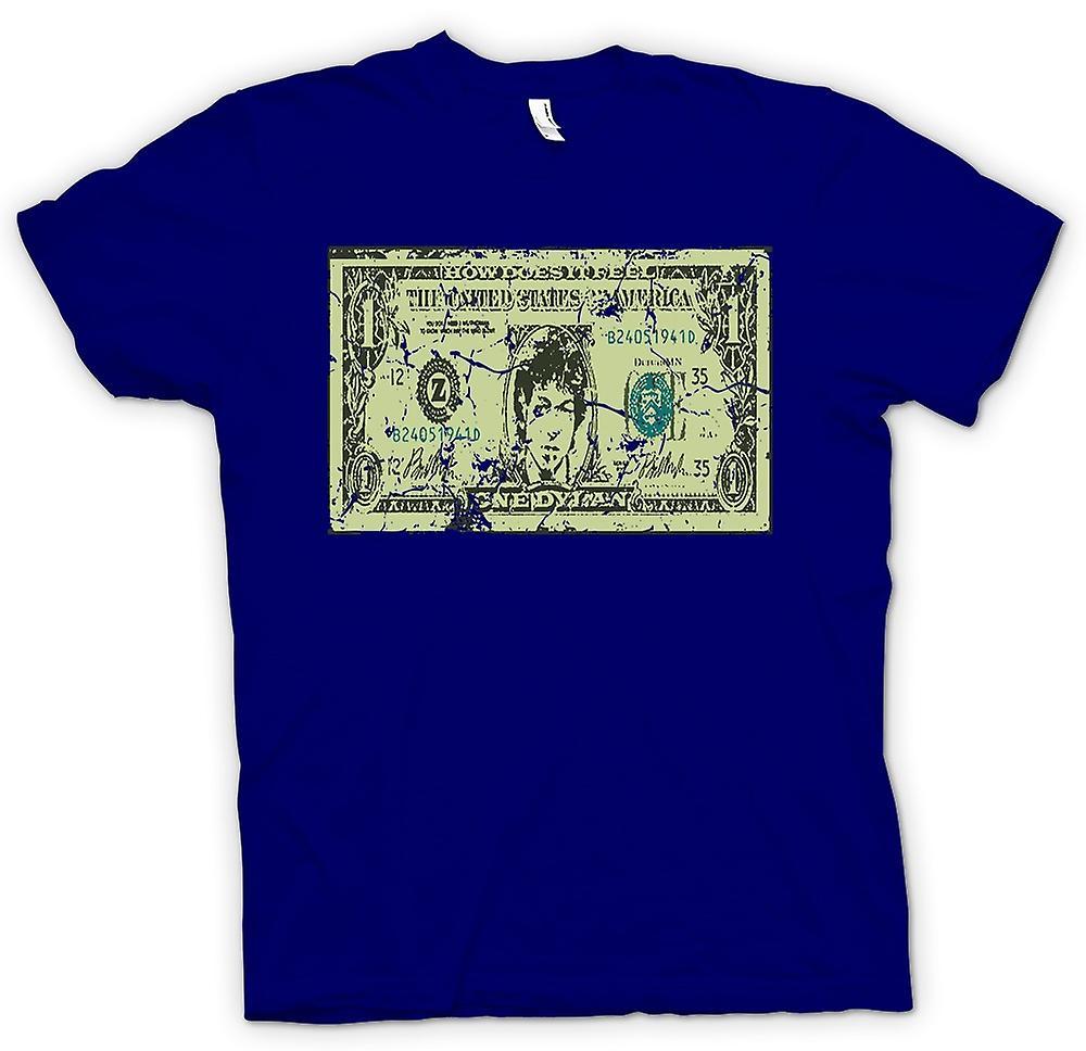 Mens t-skjorte - Bob Dylan ett Dylan - Funny