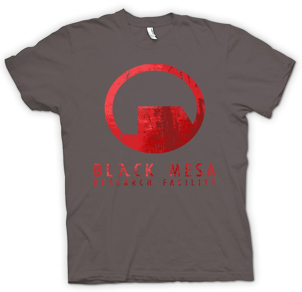 Mens T-shirt - Black Mesa Research Facility BMRF - Gamer