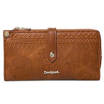 Desigual portemonnee wallet portemonnee MoNE donker amber ester 19SAYP39