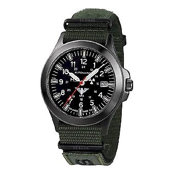KHS watches mens watch black platoon titanium automatic KHS. BPTA. NXTO1