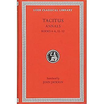 Annalen: Bks. 4-6, 11-12, v. 4 (Loeb Classical Library)