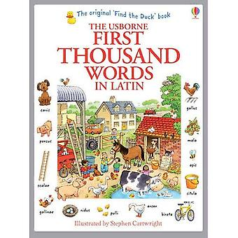Ensimmäinen tuhat sanaa latinaksi