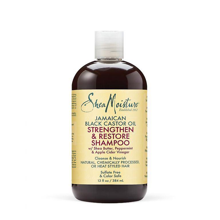 384ml Shampooing Jamaican Castor Shea Black Oil Renforceramp; L'humidité Restaurer OXZPiku