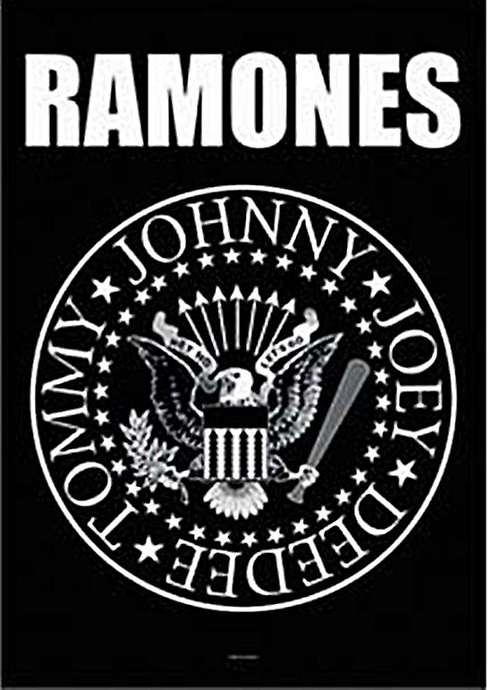 Ramones Seal large textile poster  (mm)