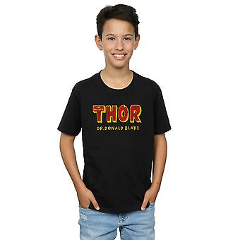 Marvel Boys Thor AKA Dr Donald Blake T-Shirt