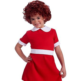 Peluca de Annie para niños
