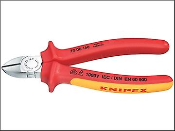 Knipex Diagonal Cutting Pliers VDE Certified Grip 180mm