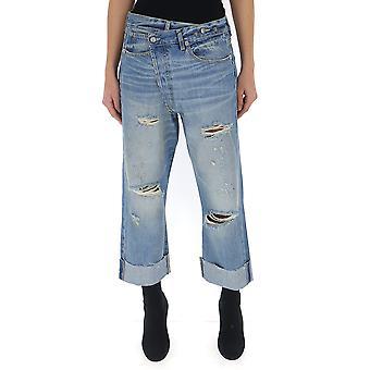 R13 Light Blue Denim Jeans