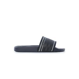 Corneliani Blue Pvc Sandals