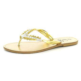 Spot On Flat Toepost Sandal F0335
