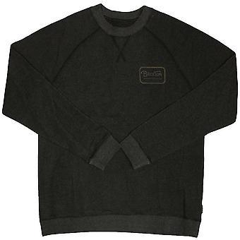Brixton Ltd Grade Crewneck Sweatshirt Heather/Black