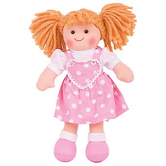 Bigjigs Toys Soft Plush Ruby (28cm) Rag Doll Cuddly Toy
