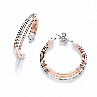 Cavendish Franse Triple Hoop Earrings Hoop Earrings